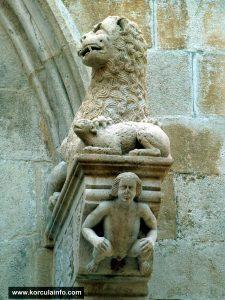 Portal (detail) @ Sv Marko Cathedral