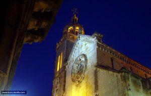 Cathedral Sv.Marko evening photo