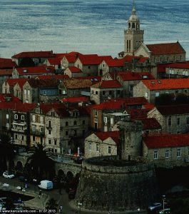 Korcula with St Mark's Cathedral
