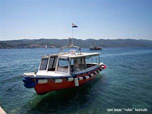 Taxi Boat Roko at Perna
