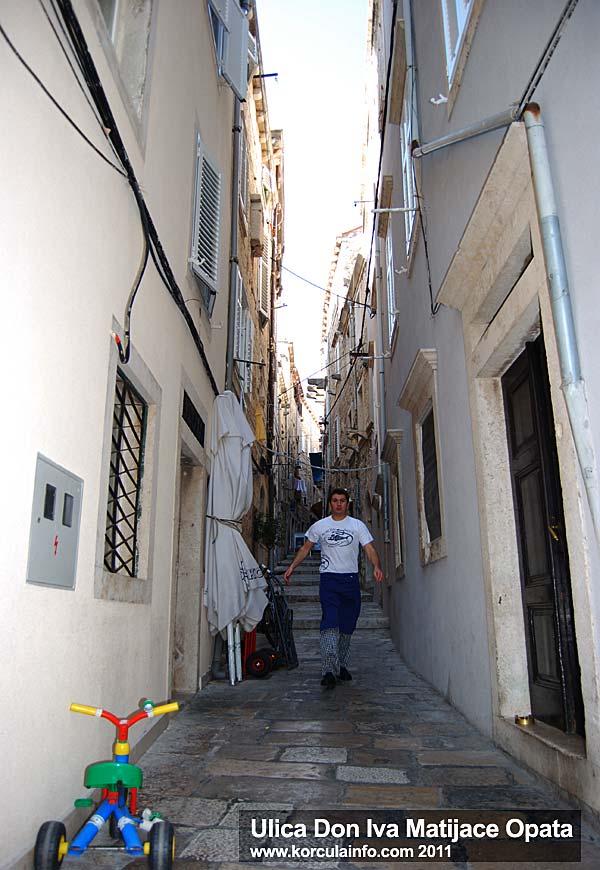 Ulica Don Iva Matijace Opata
