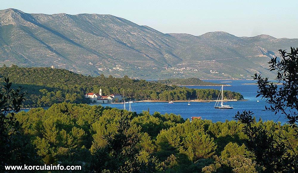 Badija - island and monastery
