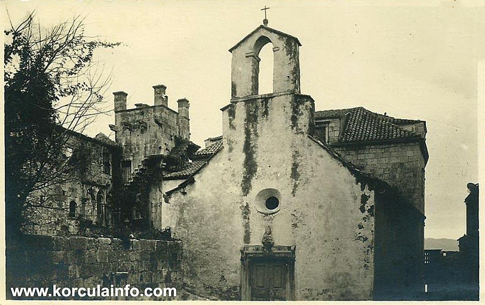 St Peter's Church (Crkva Svetog Petra) in 1930s