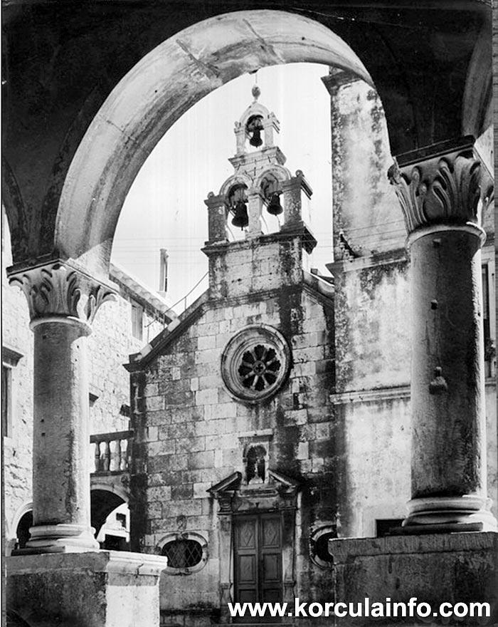 Crkva Svetog Mihovila - view from Opcina