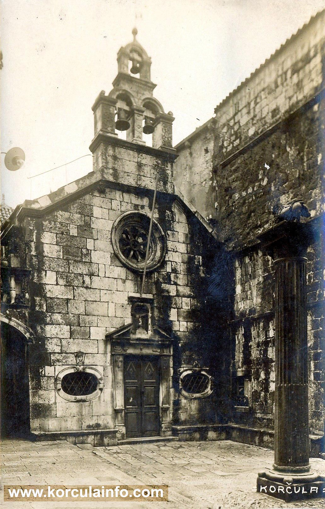 Crkva Svetog Mihovila - front facade