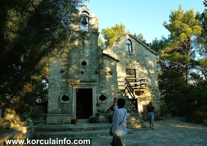 St Antony's Church (Crkva Svetog Antuna) in Situ