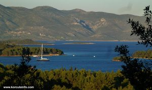 Skoji (Korcula Archipelago) - viewed from Sveti Anton