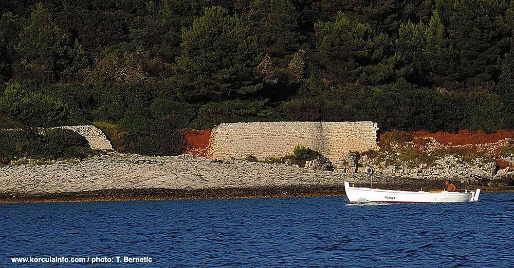 Sutvara- a small islet in Korcula archipelago