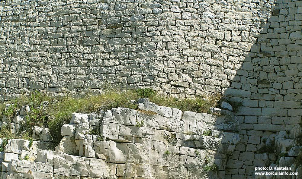 stone wall on sutvara