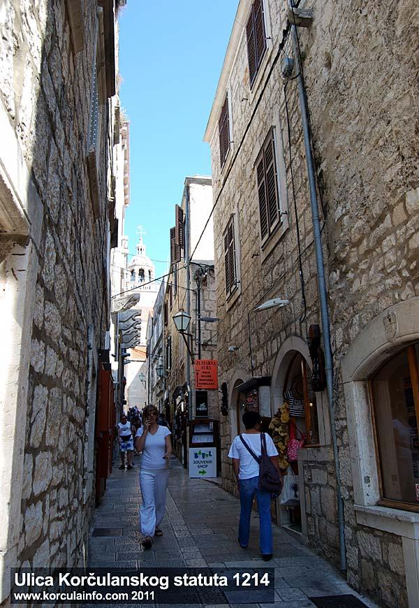 Ulica Korčulanskog statuta 1214