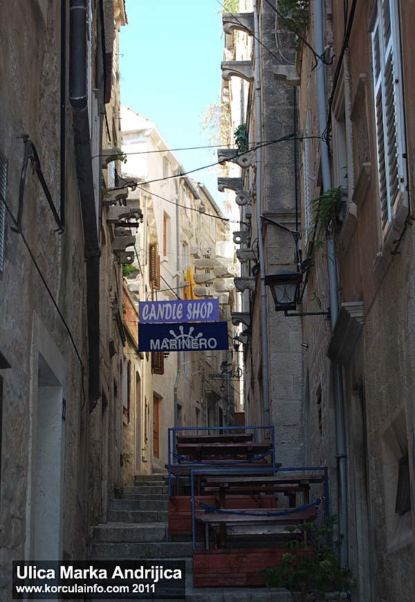 Ulica Marka Andrijica