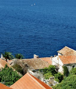 Roofs and Sea @ Korcula Old Town