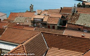 Options Views over roofs of the Old Town - seen from the Tower of St Mark's Cathedral