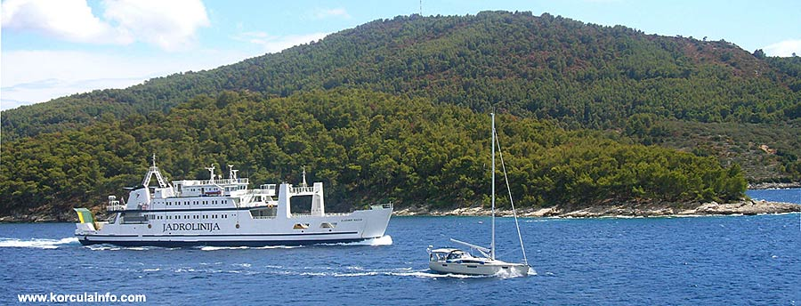 from Mljet to Korcula