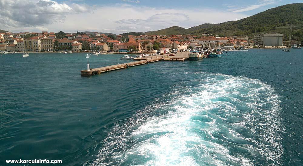 Ferry Catamaran Split - Hvar - Korcula (Vela Luka) - Lastovo