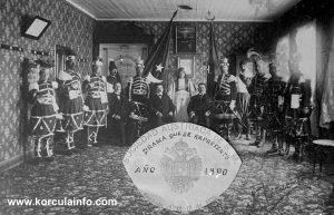 Moreska in Chile in 1900