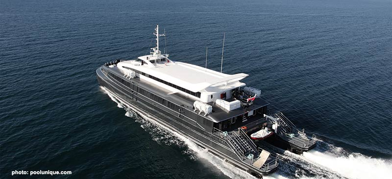 New Krilo's Catamaran ferry