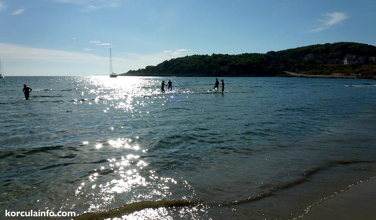 Lumbarda sandy beach Prizna