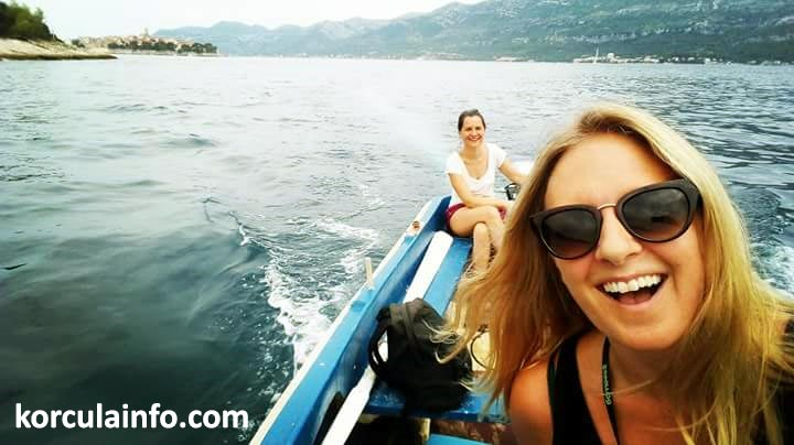 It is such fun to drive your own small boat
