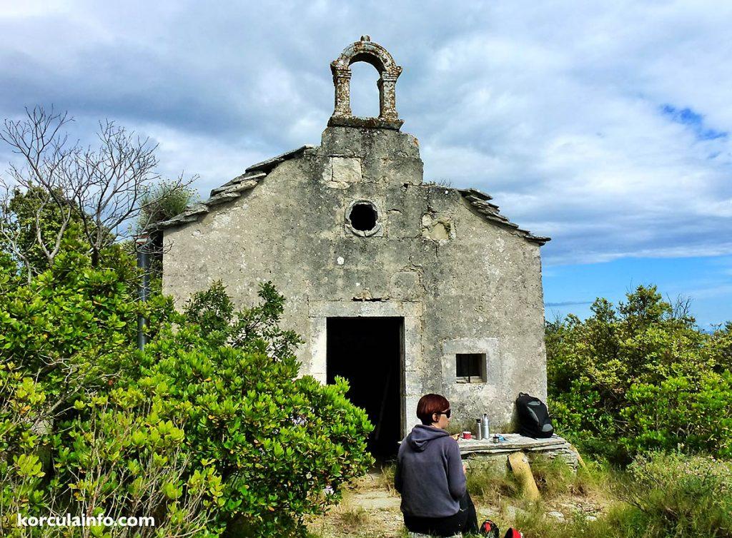 St Elias (Eliah) Church , Veliki Hom, Korcula Island