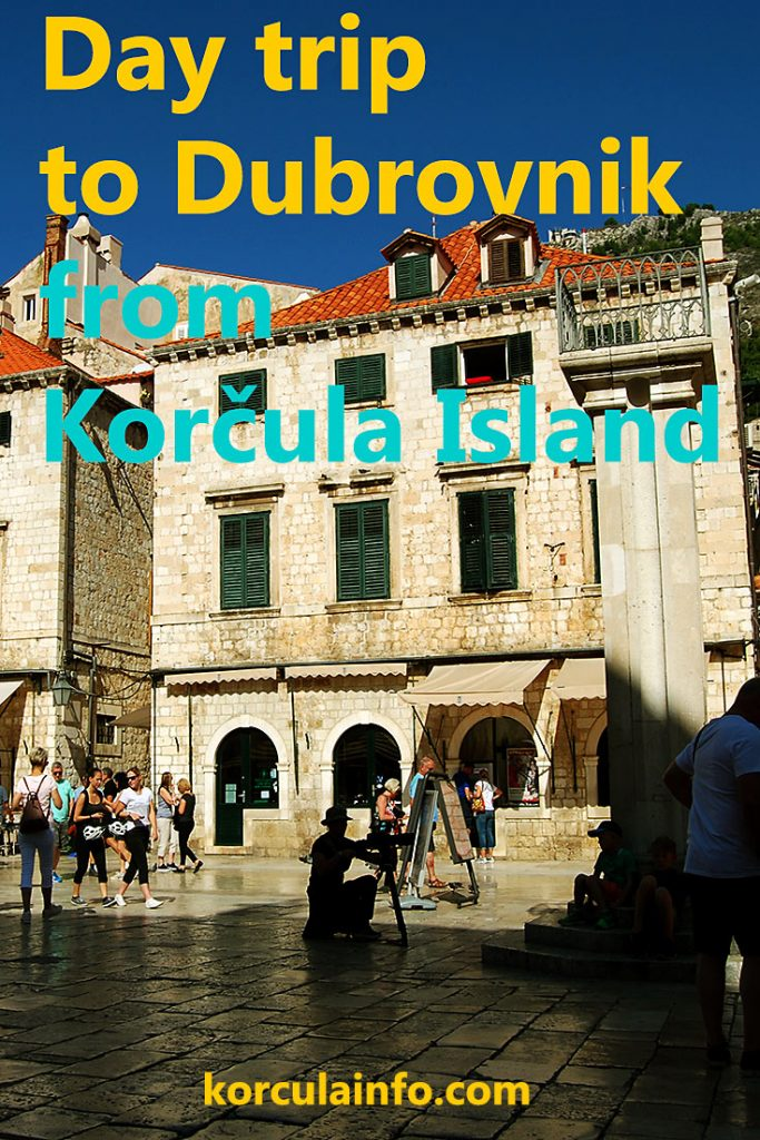 day trip from korcula to dubrovnik