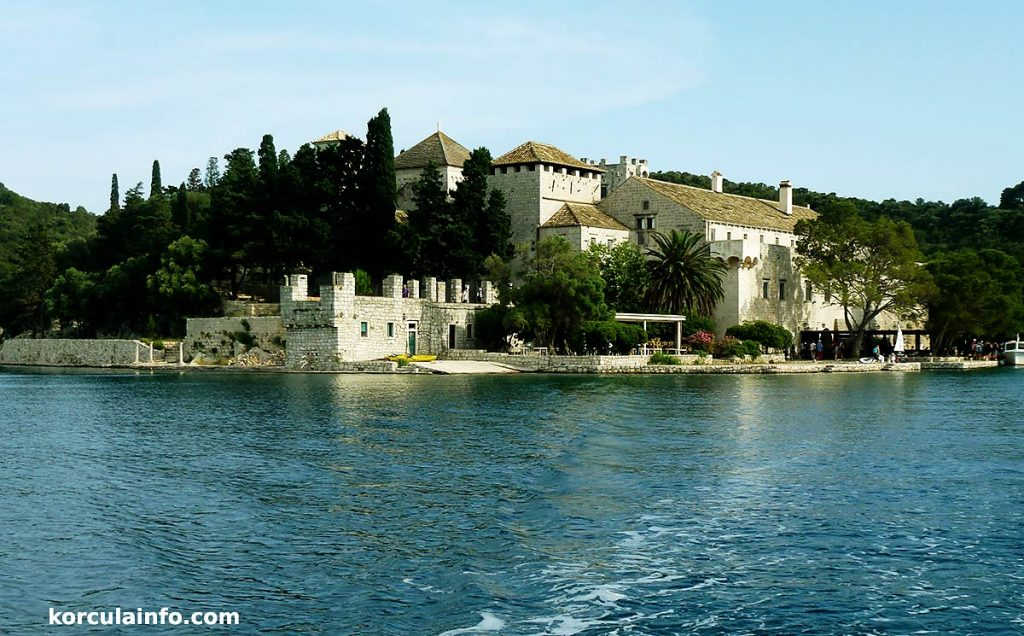 benedictine monastery in mljet national park