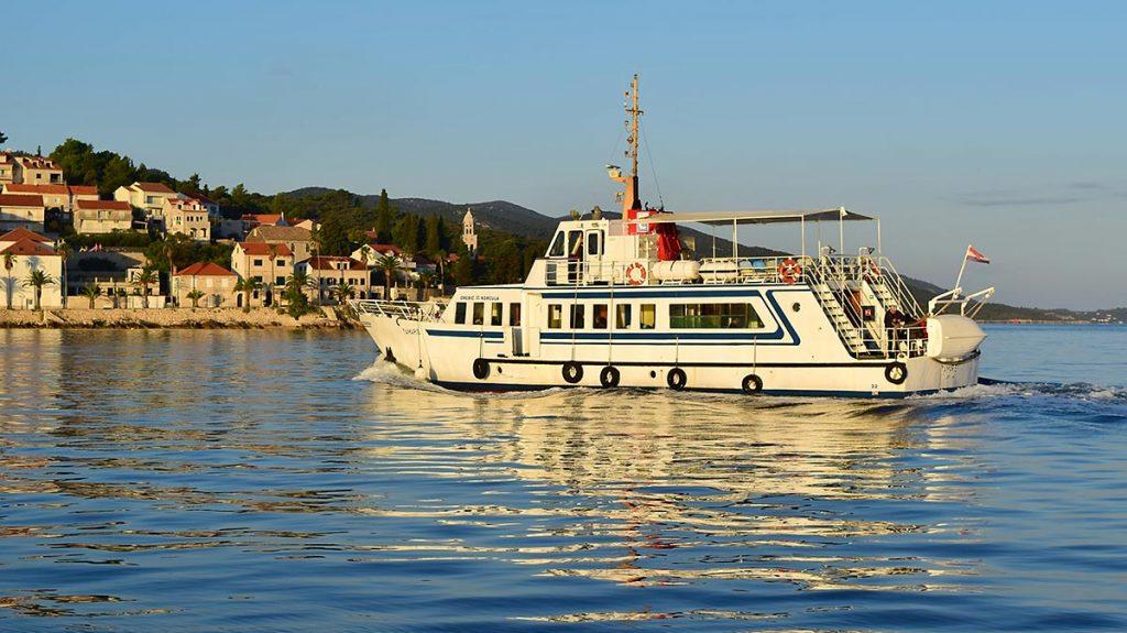 Foot passenger ferry on Korcula - Orebic crossings