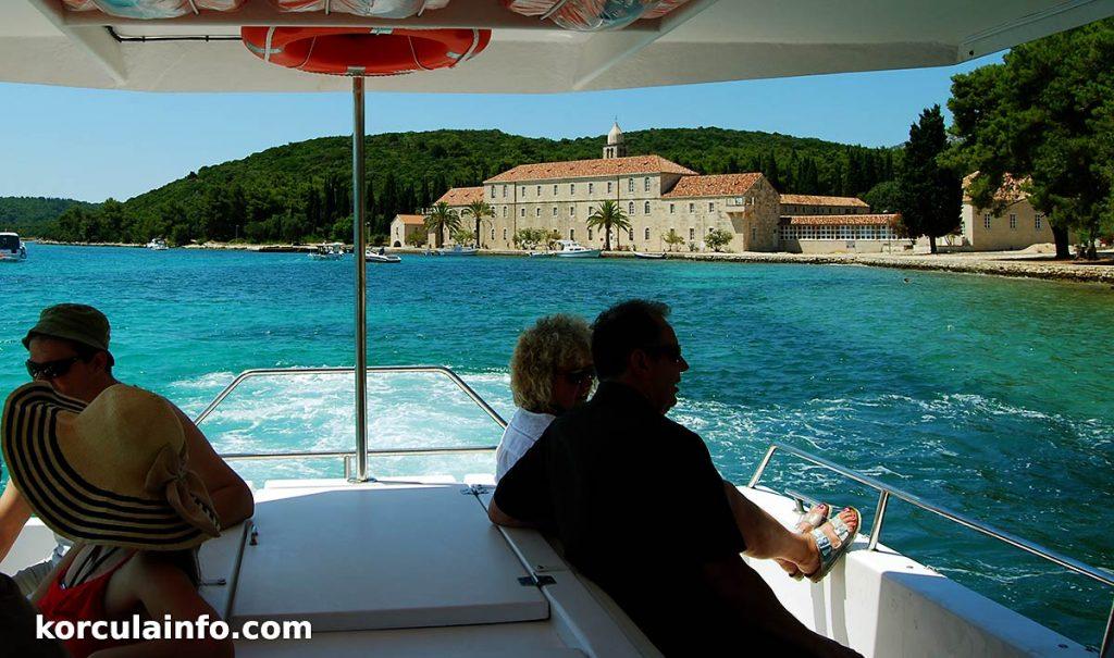 Badija island on Korcula Archipelago Riviera Cruise Tour