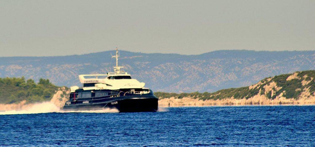 Ferry Catamaran Split – Bol (Brac) – Makarska – Korcula – Mljet (Sobra) – Dubrovnik