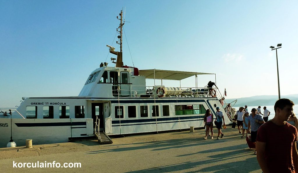 Orebic ferry terminal for foot passengers